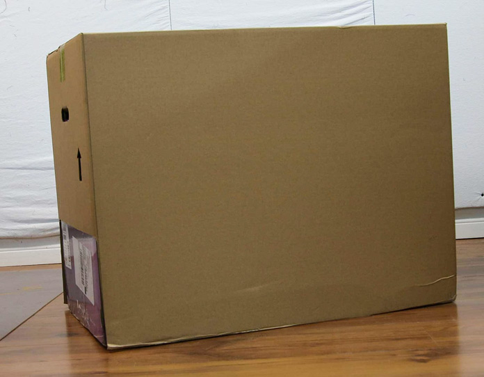 What surprise awaits in that big box?