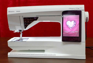 Husqvarna Viking Designer Ruby Royale Sewing Machine