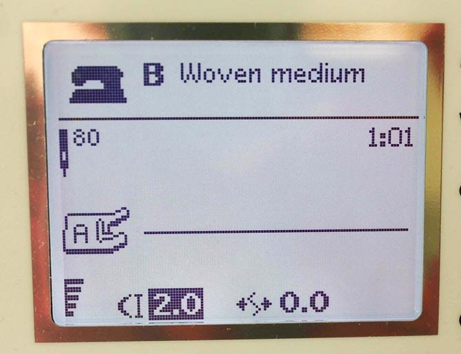 Five speed bars indicates maximum speed (in the bottom left hand corner)