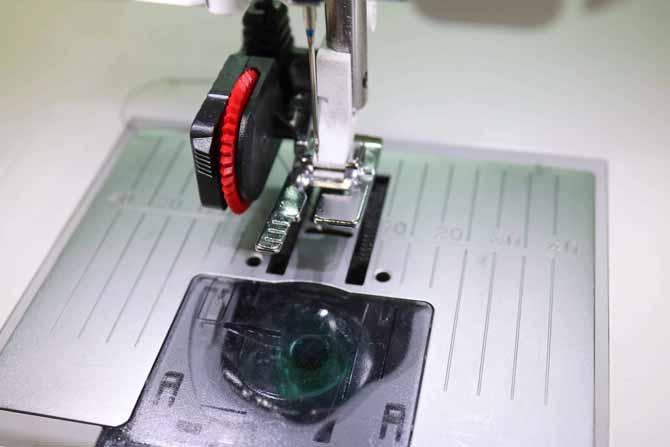 The Sensor One-Step Buttonhole Foot