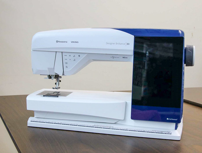 HUSQVARNA VIKING Designer Brilliance 80 sewing machine
