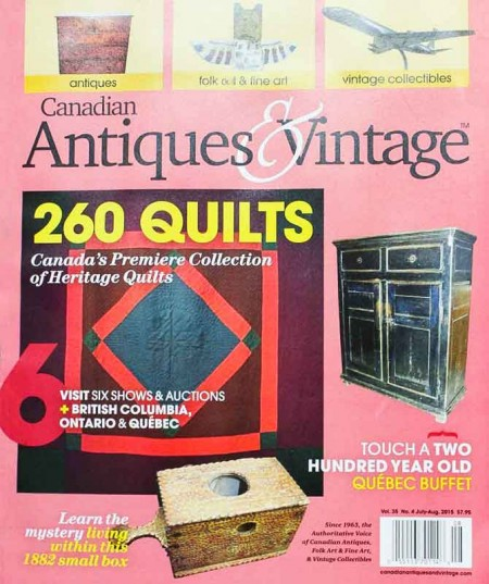 Canadian Antiques & Vintage - July/August 2015