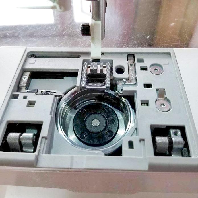 Easy sewing machine maintenance