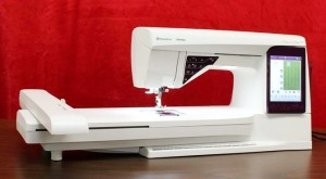Machine Embroidery with the Husqvarna Viking Designer Ruby Royale