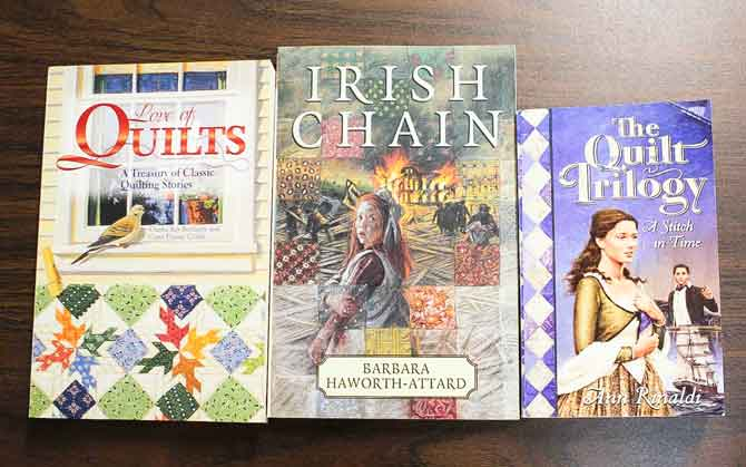 Quilt themed novels