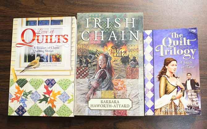 Quilt themed novels