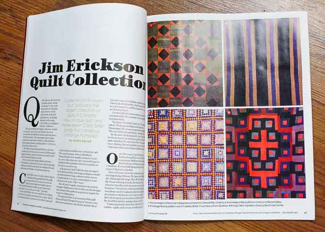 Article - Jim Erickson Quilt Collection