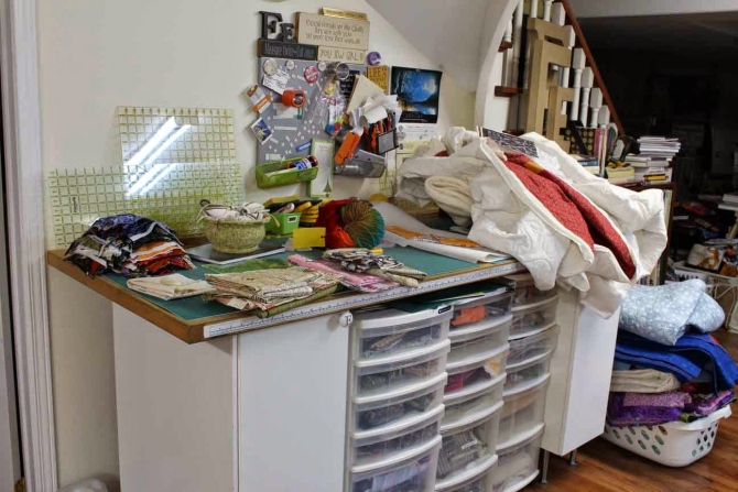 Quilting Studio Chaos