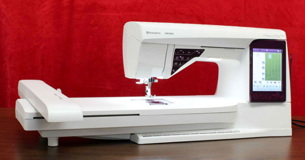 introducing the husqvarna viking designer ruby royale sewing machine