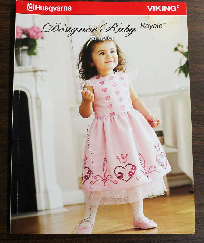 Designer Ruby Royale Sampler book