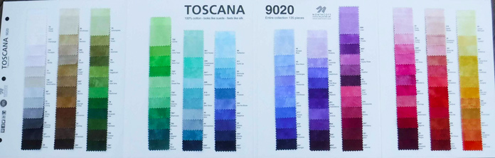 135 colors of Toscana