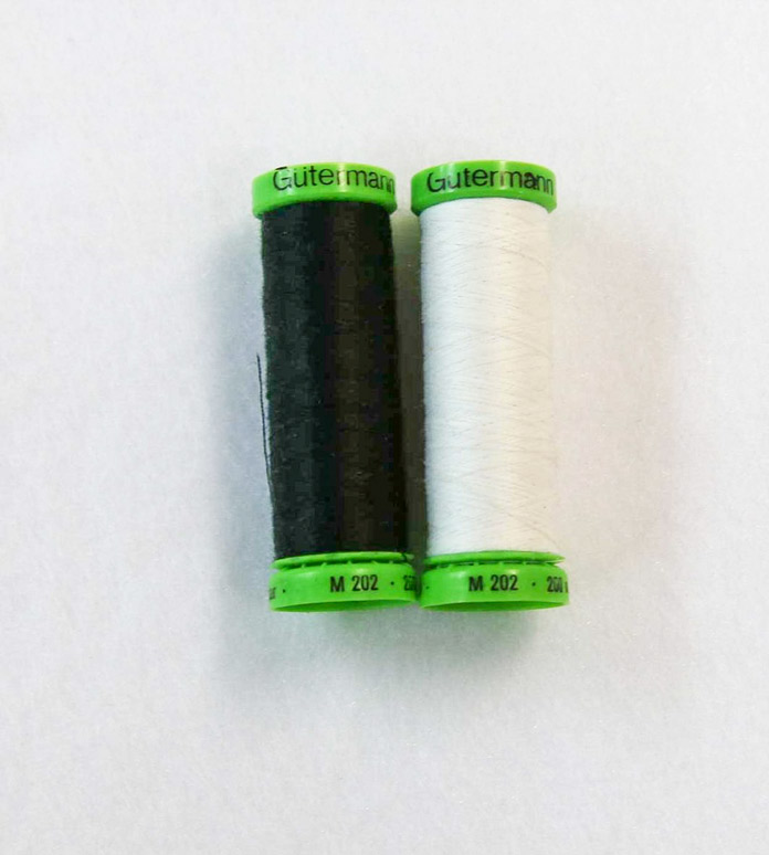 A lighter weight (60 weight) thread to be used in the bobbin for machine applique