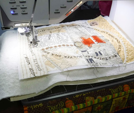 The bed of the Designer EPIC is large enough to accommodate my entire piece