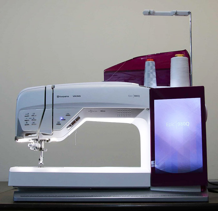 Husqvarna Viking Epic 980Q sewing machine