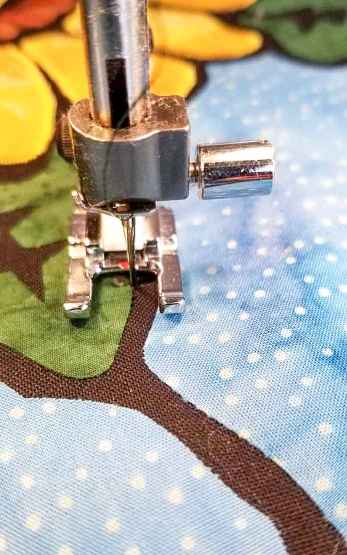 There is as much variety in applique stitches as there are decorative stitches on the Brilliance 75Q - let's explore a few.