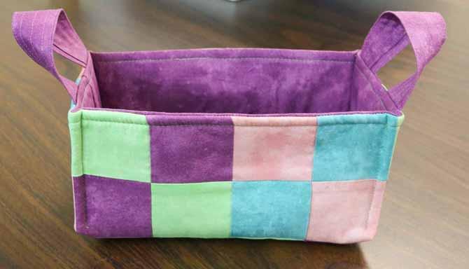 Completed basket