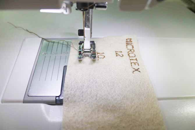Making A Sewing Machine Needlecase Using The Sapphire 40Q Adorable Lettering Sewing Machine