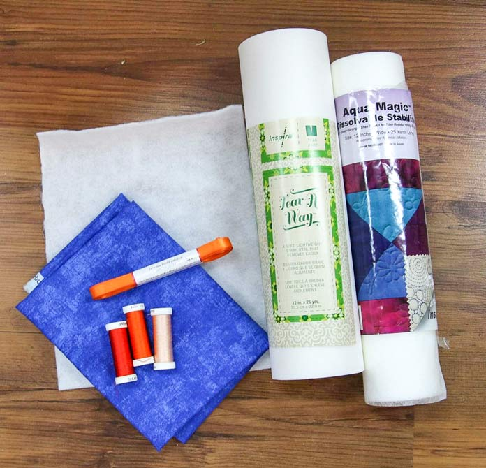 The sewing instructions for the mug rug from the mySewnet blog