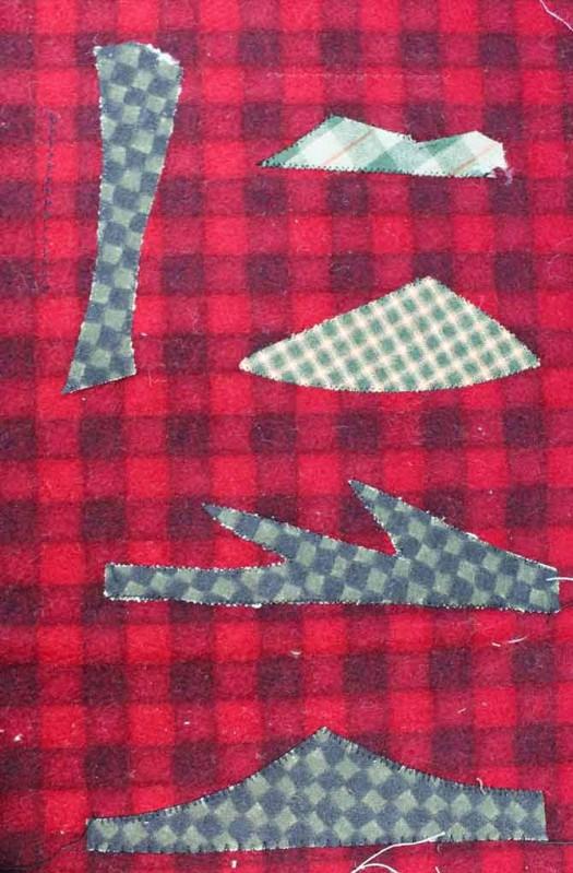 More stitch outs for machine applique