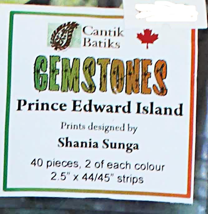 "Prince Edward Island 2 1/2"" strip package"