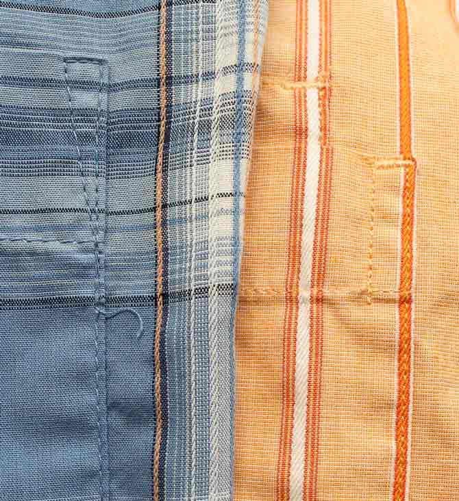 Reinforced pocket tops