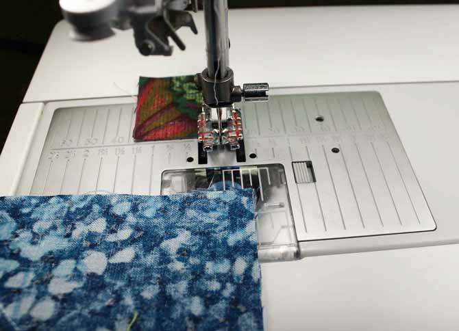 Getting ready to sew what looks like a straight forward seam