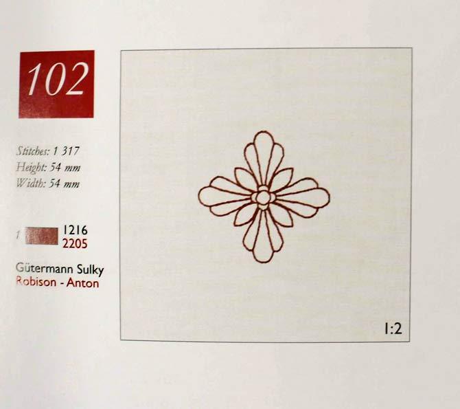 Design Number 102