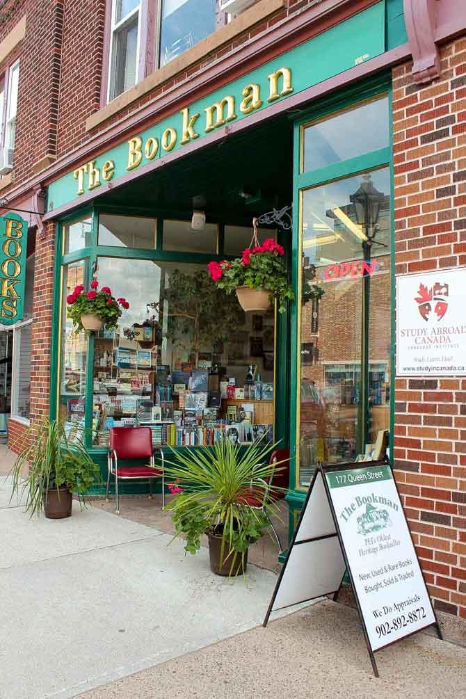 The Bookman - Charlottetown, PEI