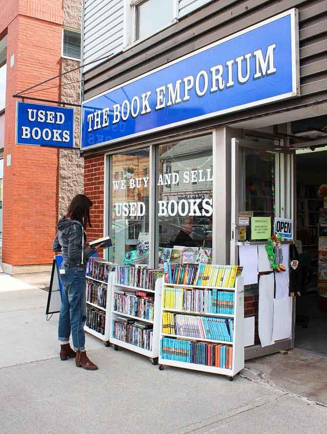 The Book Emporium, Charlottetown, PEI