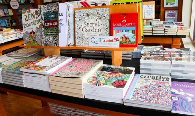 Huge selection of adult coloring books