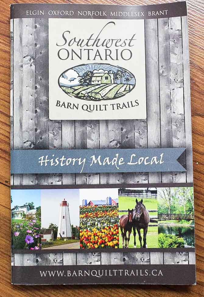 Southwest Ontario Barn Trail Guide Book