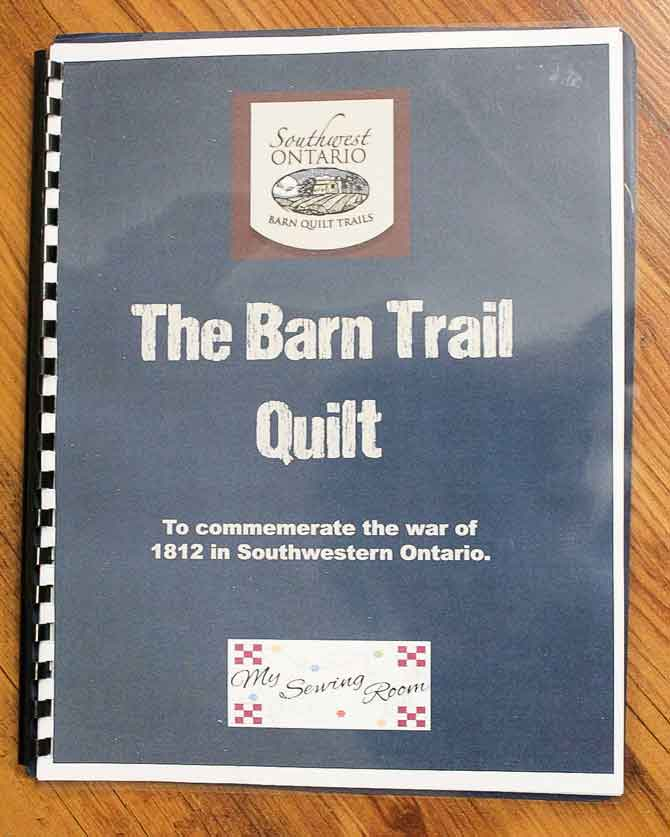 The Barn Quilt Trail book of quilt blocks