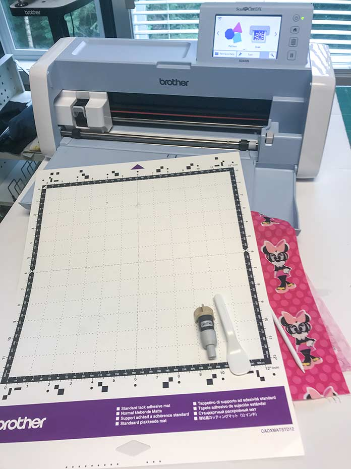 Supplies and materials for making paper templates for paper piecing