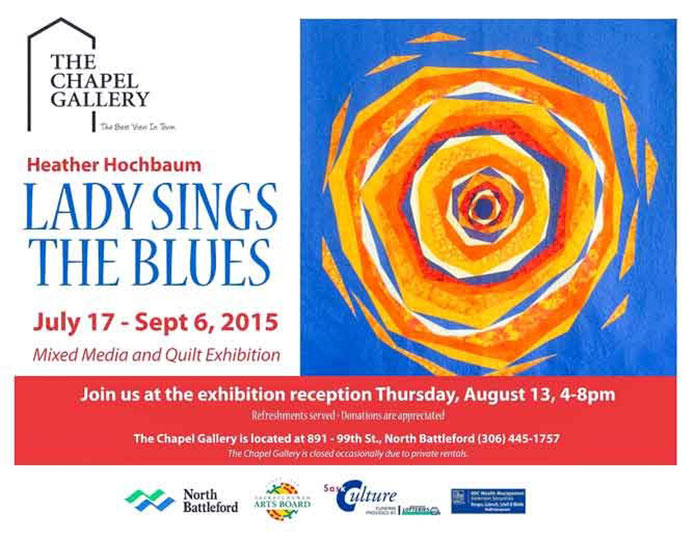 Lady Sings the Blues Quilt Exhibition