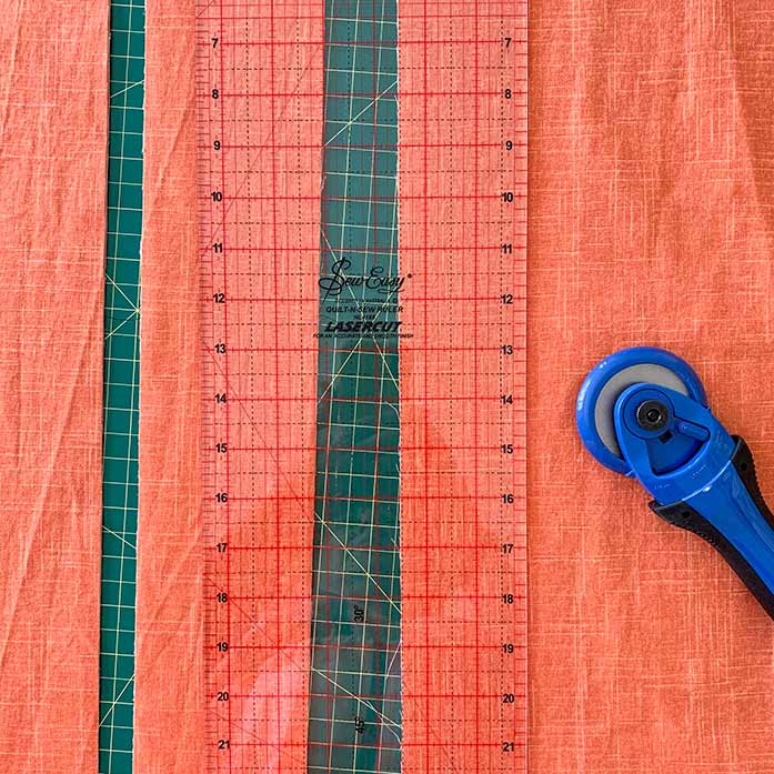KAI cutter, Unique cutting mat and Sew Easy ruler are indispensable tools for avid quilters