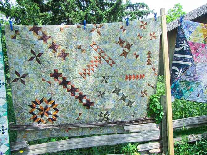 Quilts at the Creek quilt show