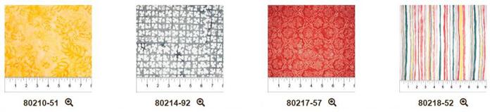 Fabrics of the Boho Beach Yellow collection
