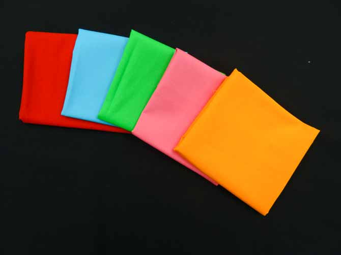 The 6 fabrics Northcott ColorWorks Premium Solid 9000 collection. The 5 brights pop on the black background!