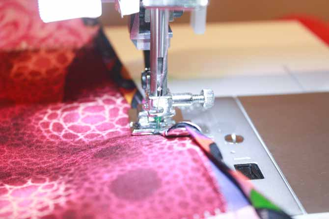 Learning to use your Bias Binding Foot will save you time in the long run