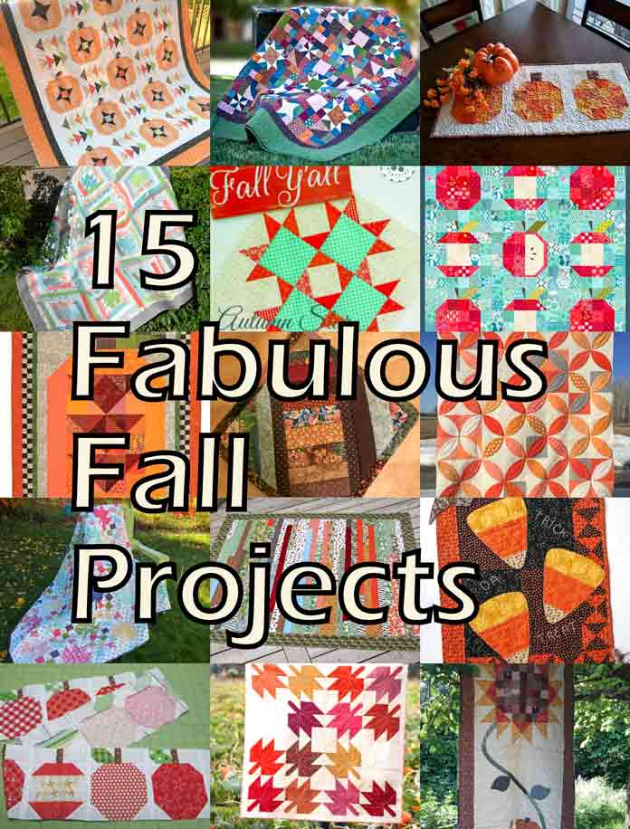 Perfect timing for fall quilt patterns!