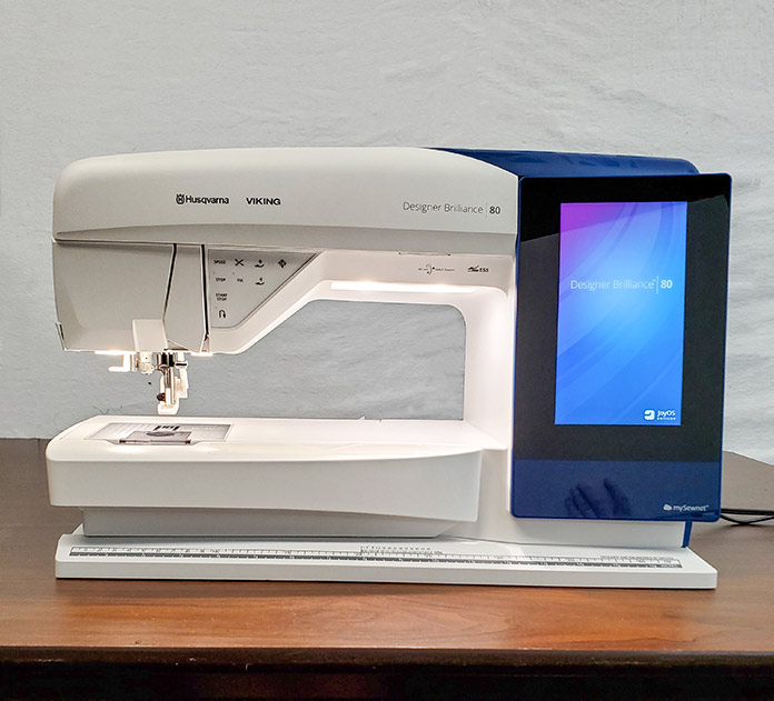 Husqvarna Viking Designer Brilliance 80 sewing machine