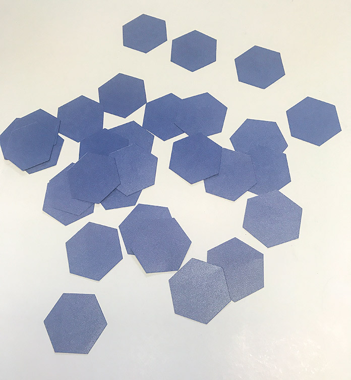 Cut hexies