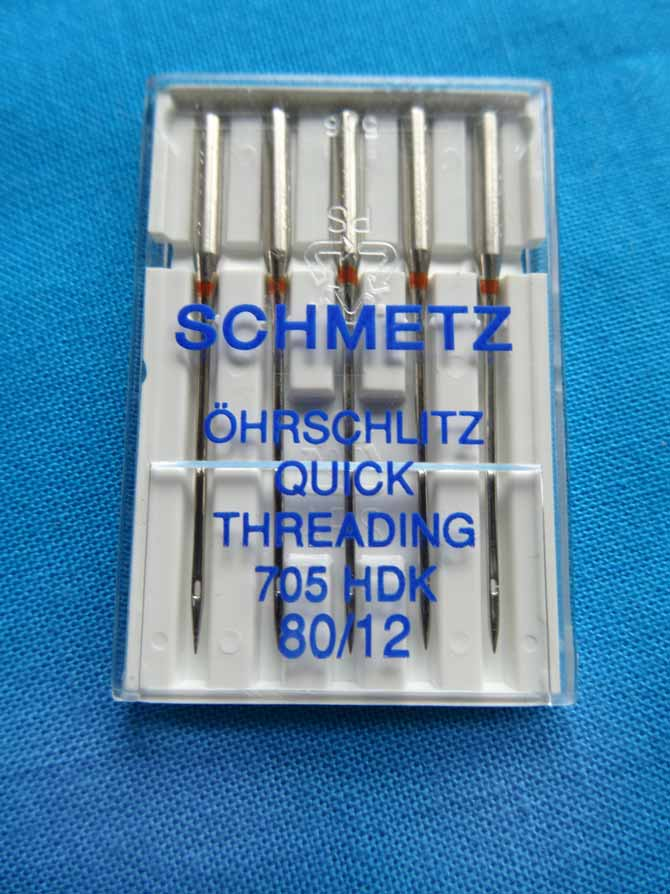 SCHMETZ Quick Threading - 80/12