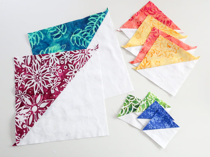 This week's techniques are all about Half Square Triangles