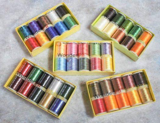 WonderFil rayon thread packs
