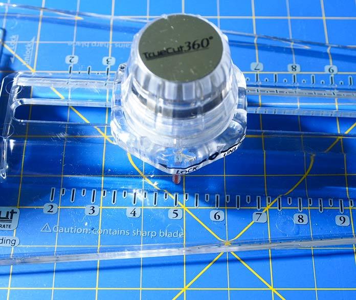 Set size of circle with sizing knob