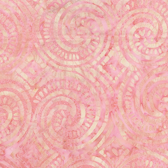 Pink Island Vibes fabric #80274-21 to use for ; using Banyan Batiks Island Vibes fabrics to make a modern quilt, placemat, cushion cover etc.