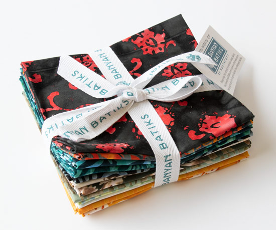 QUILTsocial Giveaway 266: Alilah 12-Fat Quarter Fabric Bundle!