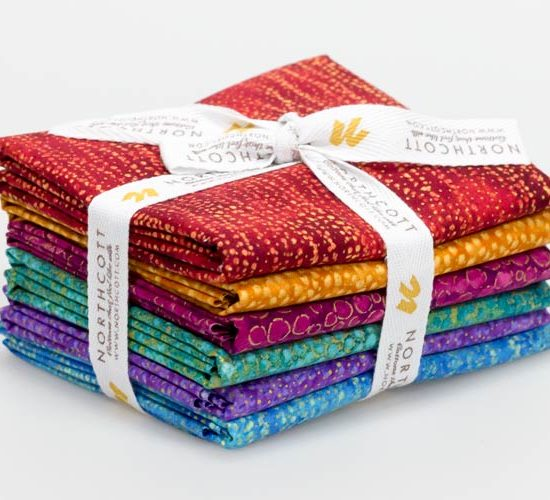 Northcott Artisan Spirit Shimmer Fabric Bundle