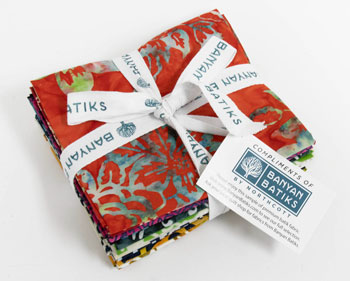 Banyan Batiks Baralla12-Fat Quarter Fabric Bundle!